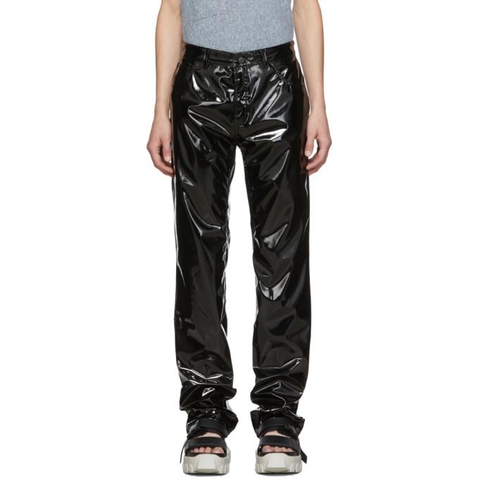 Ottolinger Pantalon noir Pleather