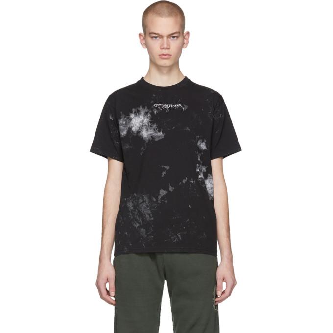 Ottolinger T-shirt noir et blanc Painted