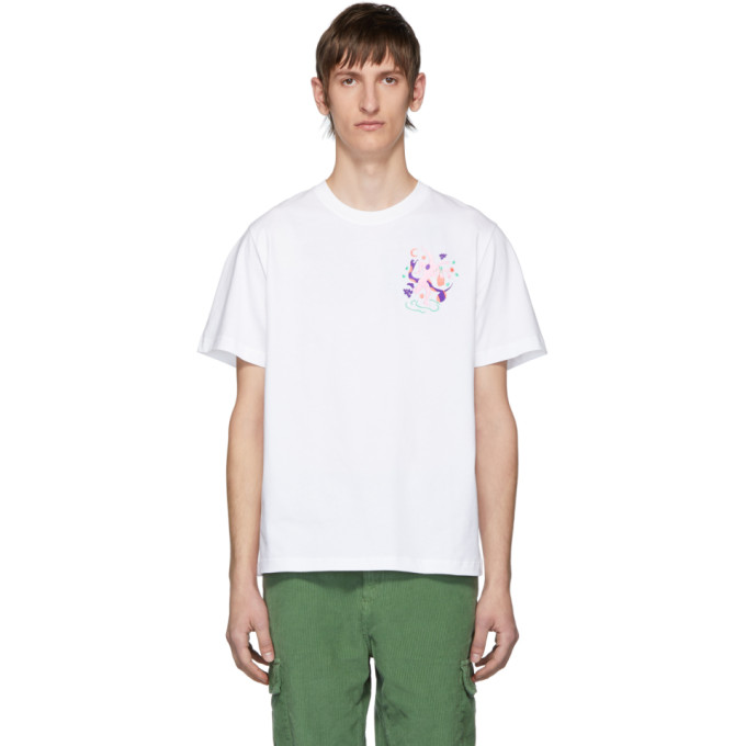 Carne Bollente White Adam In Eve T-Shirt