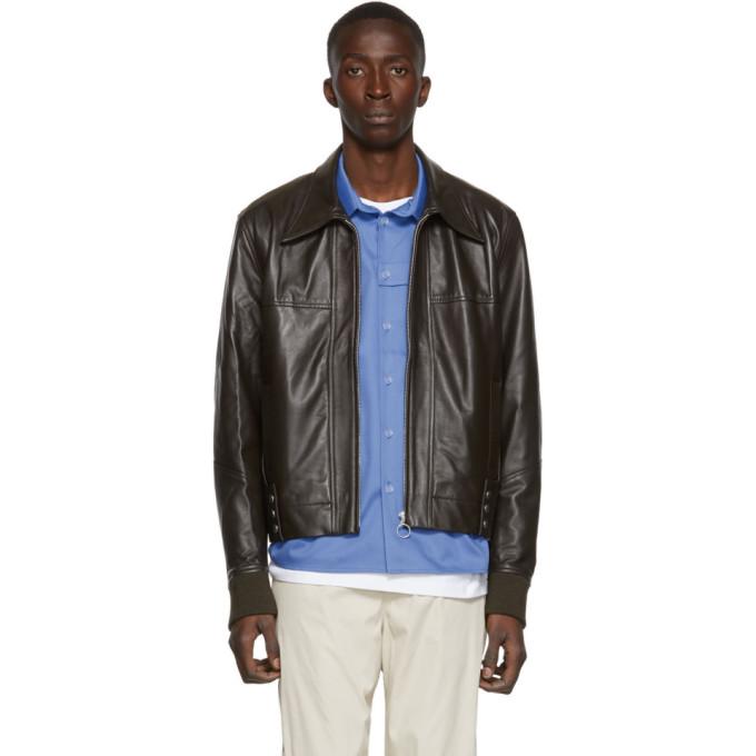 St-Henri SSENSE Exclusive Brown Constellation Jacket