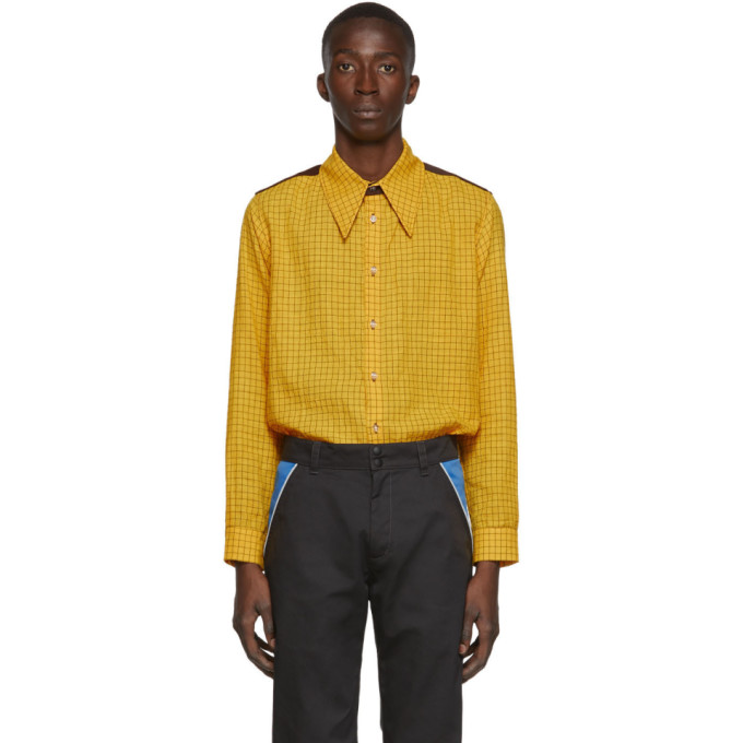 SSENSE Exclusive Yellow Woody Shirt