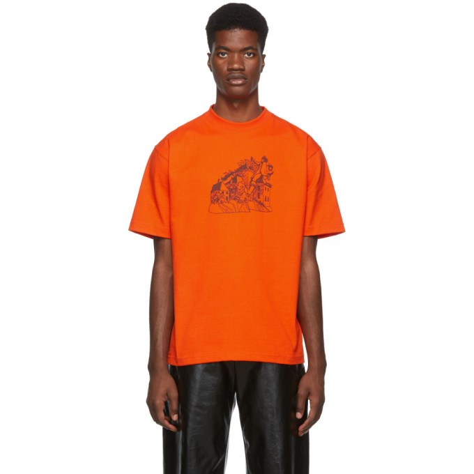 St-Henri T-shirt orange Lorem