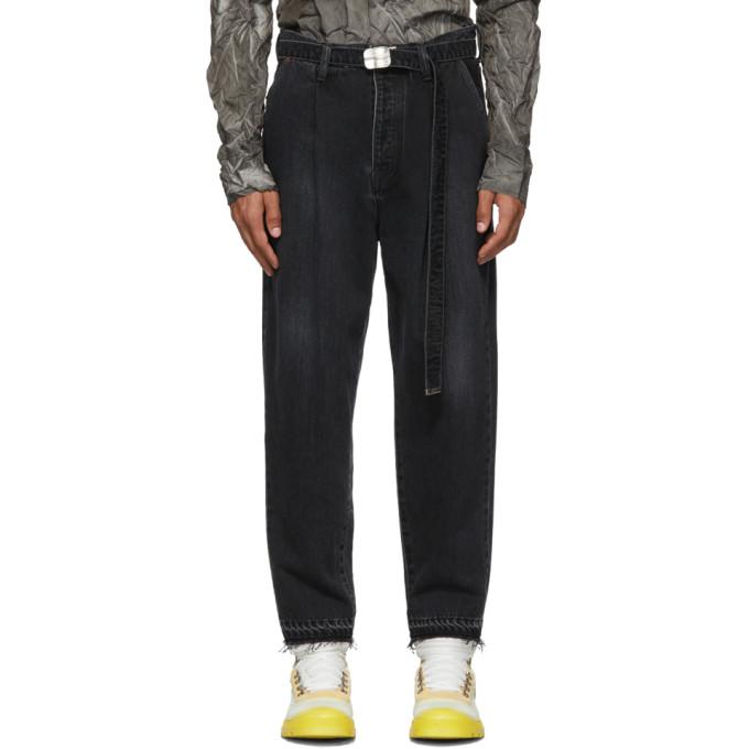 Doublet Jean fusele noir Cashmere Wide