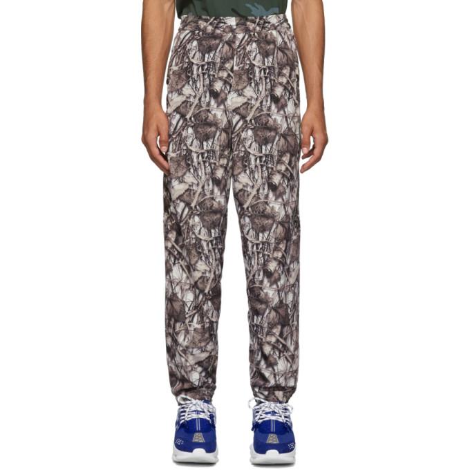 Doublet Pantalon de survetement blanc Predator Embroidery Real Camouflage