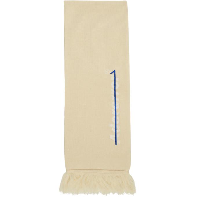 ADER error Foulard blanc casse A Fold Muffler