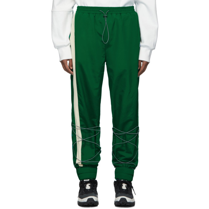ADER error Green Inter Track Pants