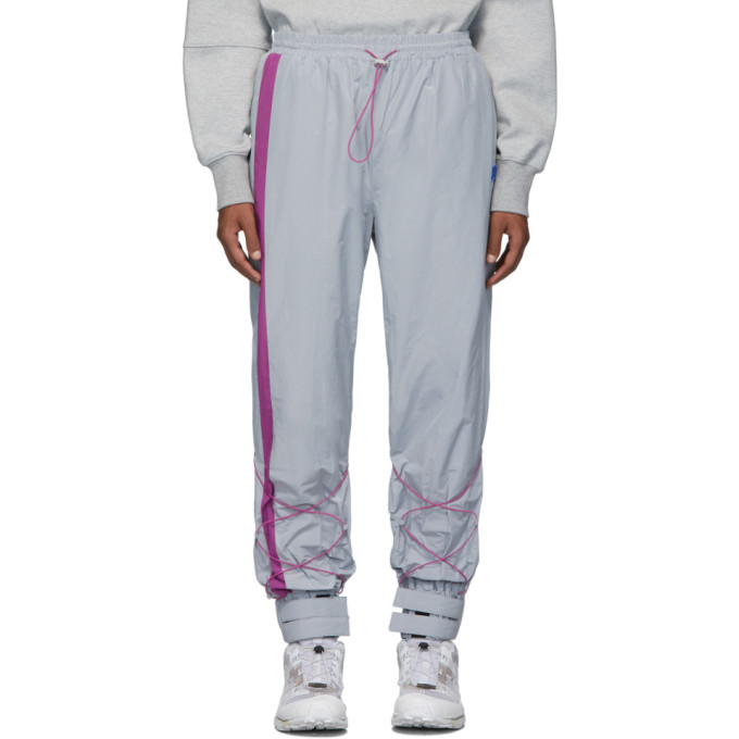 ADER error Gray Inter Track Pants