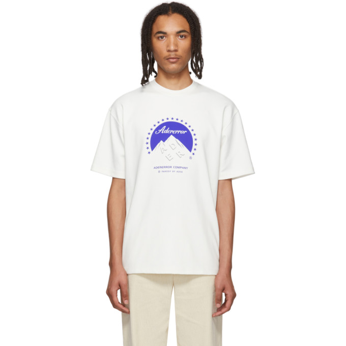 ADER error T-shirt blanc Oversized Mount