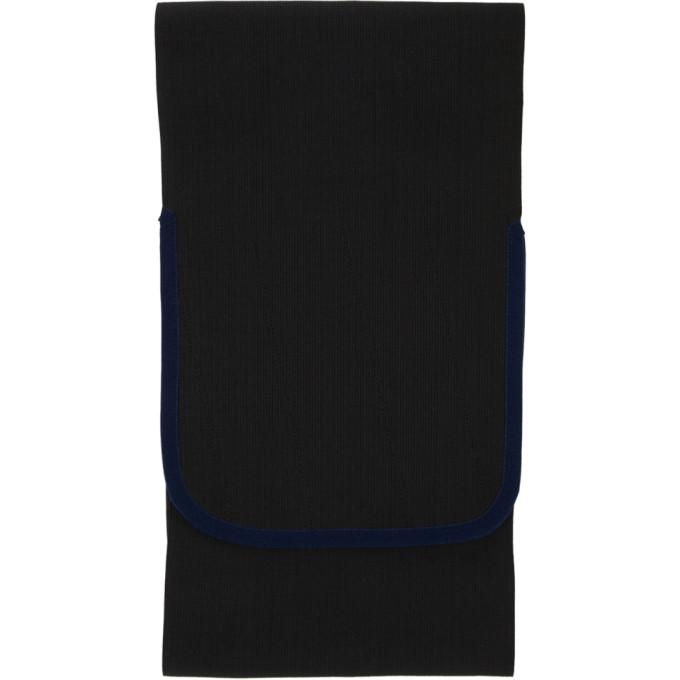 Daniel W. Fletcher Ceinutre elastique noire Hip exclusive a SSENSE
