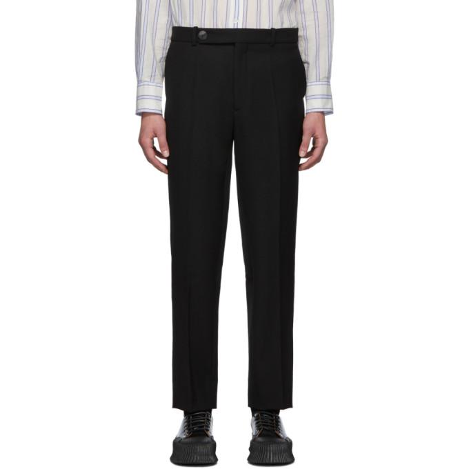 Namacheko Pantalon en tricotine noir Shil