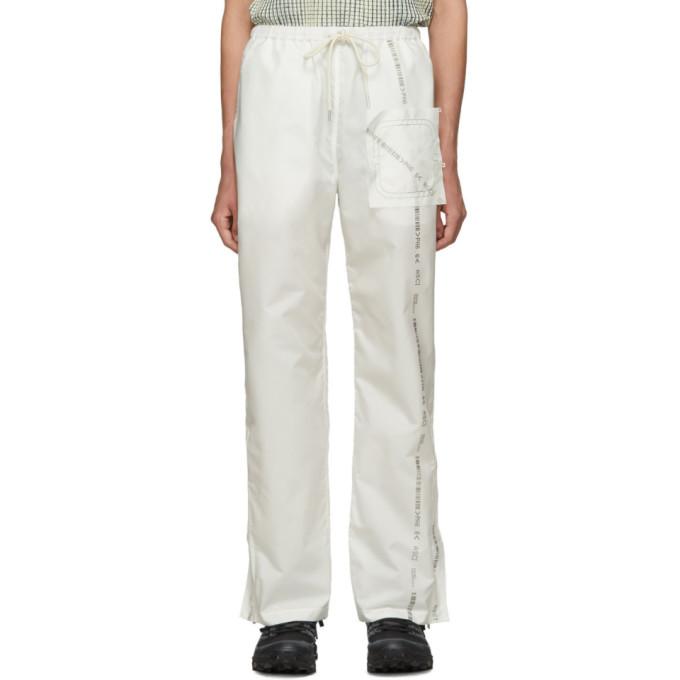 Kanghyuk Pantalon blanc Readymade Airbag Front