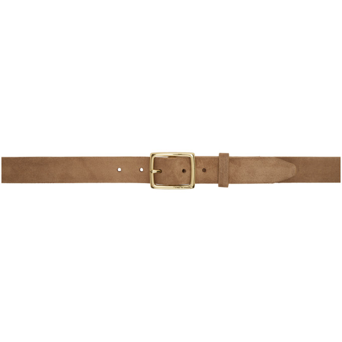rag and bone Ceinture brun clair Boyfriend