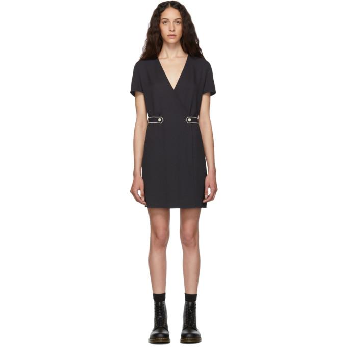 Image of rag and bone Black Tabitha Dress