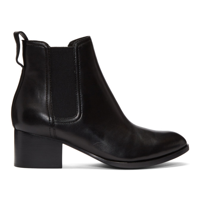 rag and bone Black Walker Boots