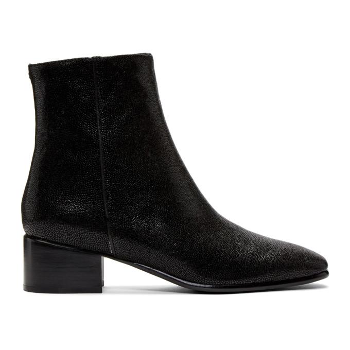 rag and bone Black Aslen Mid Boots