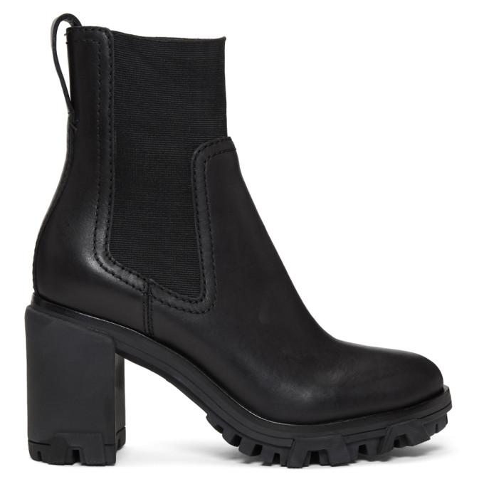 rag and bone Black Shiloh High Boots