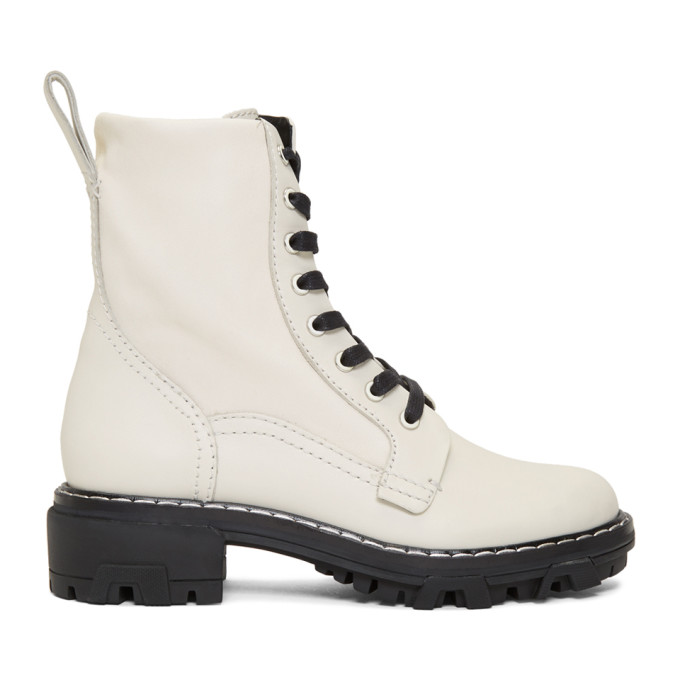 rag and bone Off-White Shiloh Boots