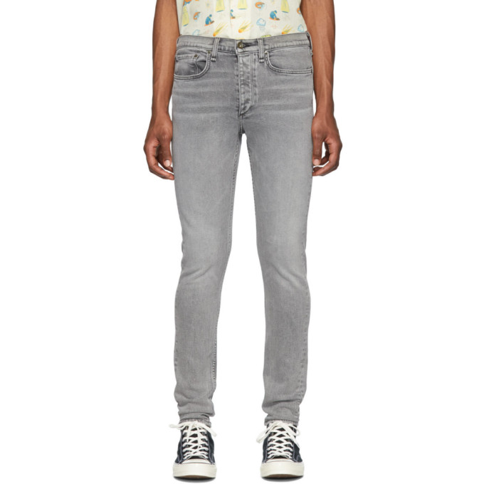RAG & BONE | Rag And Bone Grey Fit 1 Jeans | Goxip