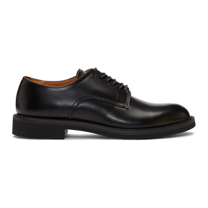 Comme Des Garçons Homme Deux Shoes COMME DES GARCONS HOMME BLACK GLOSSY DERBYS