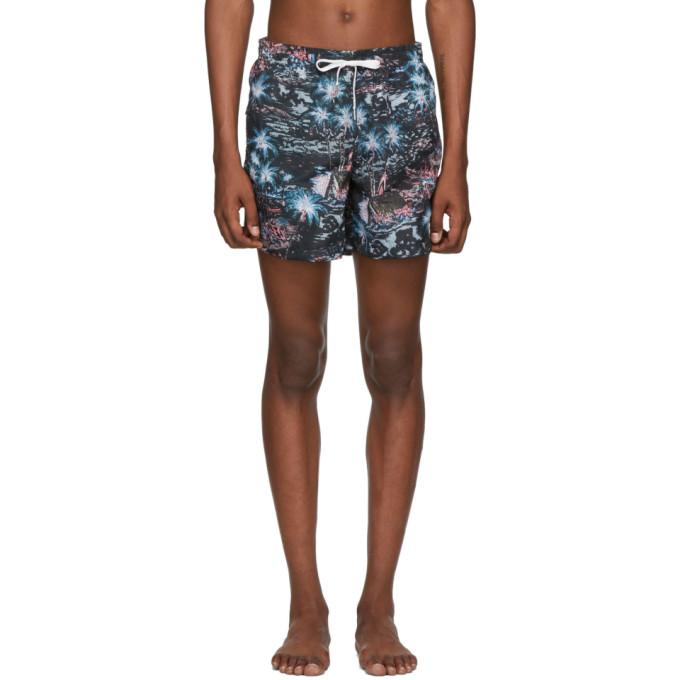 Bather Maillot de bain noir Midnight Hawaii