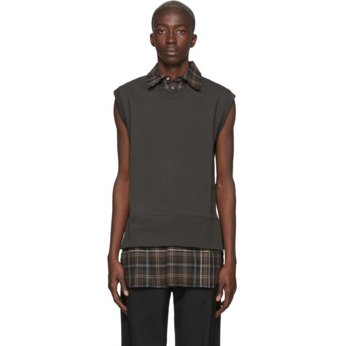 LHomme Rouge Veste brune Shirt