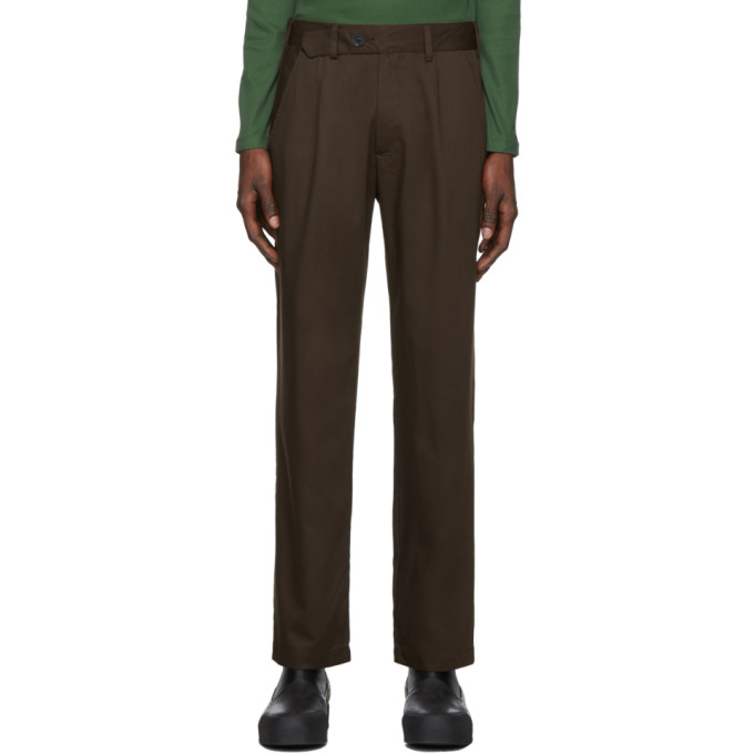 LHomme Rouge Brown C2C Tradition Trousers