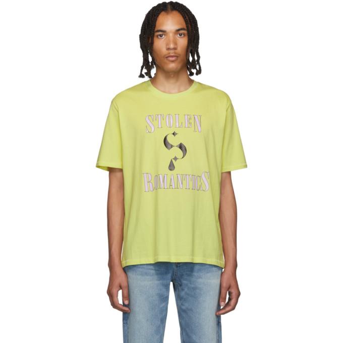 Stolen Girlfriends Club Green Stolen Romantics T-Shirt
