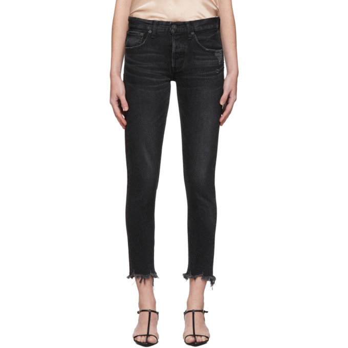 Moussy Vintage Jean fusele noir Staley