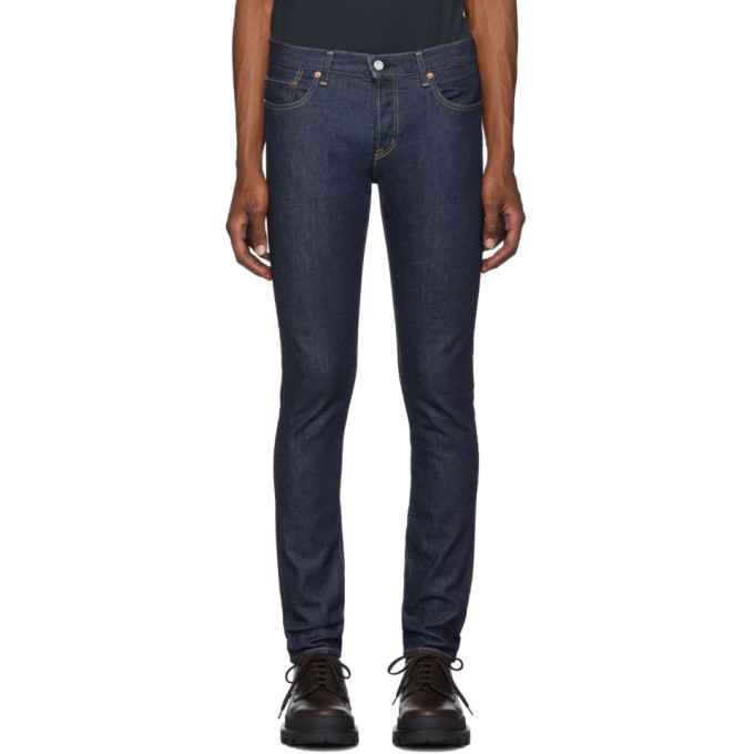 Moussy Vintage Jean skinny bleu marine Kenhorst
