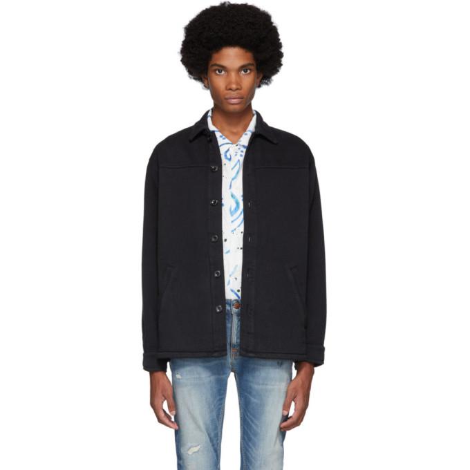 Nudie Jeans Black Twill Elias Jacket