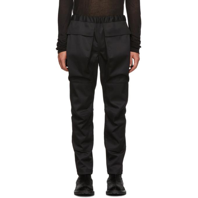 ALMOSTBLACK Black Cargo Pants