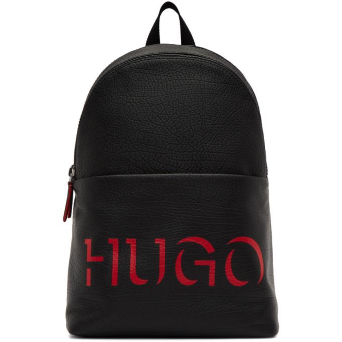 Hugo ブラック Victorian バックパック