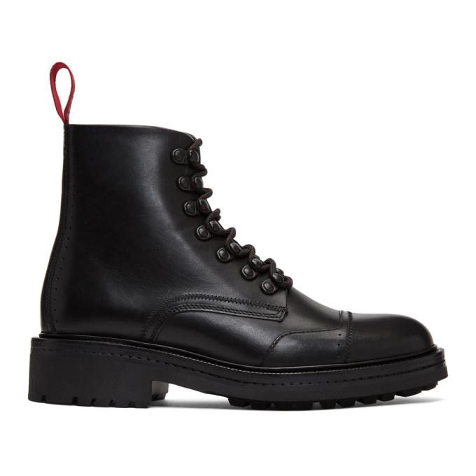 Hugo Black Impact Boots