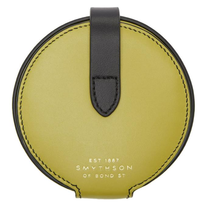 Smythson Yellow Circle Coin Purse
