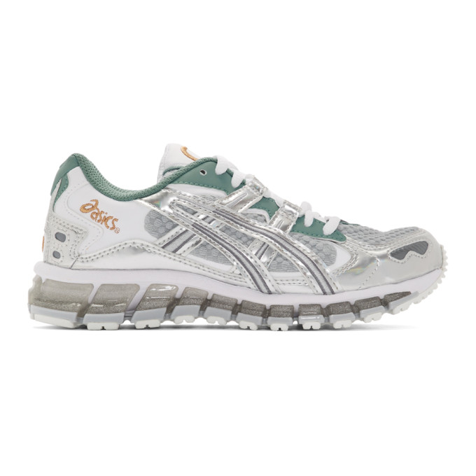 Asics Green and Grey Gel-Kayano 5 360 Future Polarized Sneakers