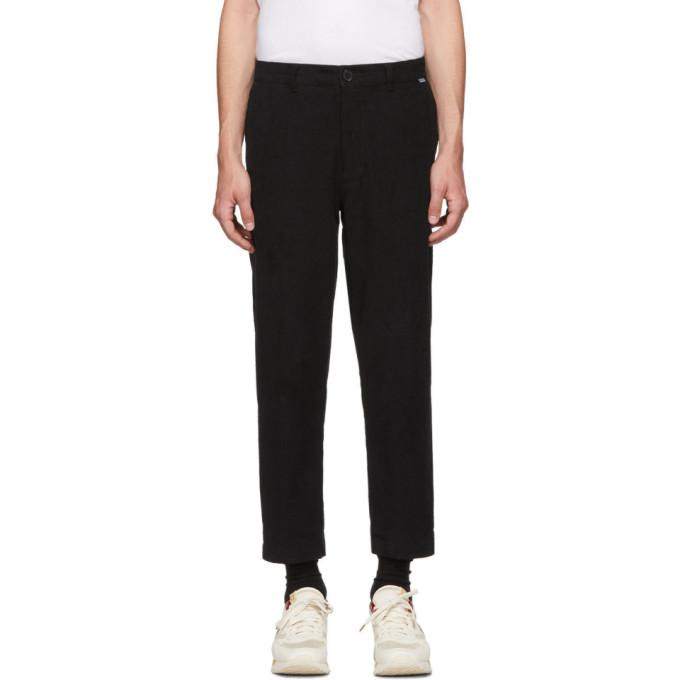 Dickies Construct Pantalon en velours cotele noir Straight Slim exclusif a SSENSE