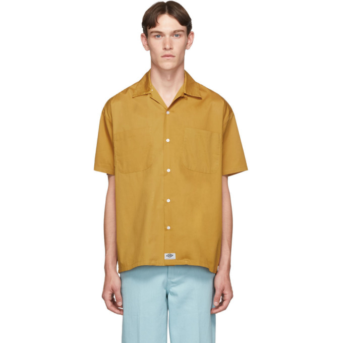 Dickies Construct Chemise a manches courtes brune Campshirt