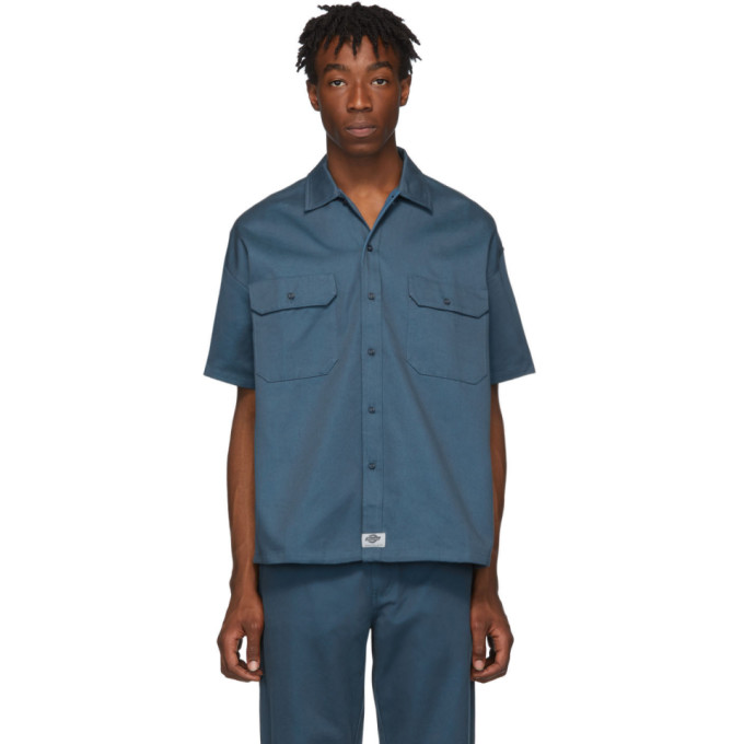 Dickies Construct Chemise bleue Worker