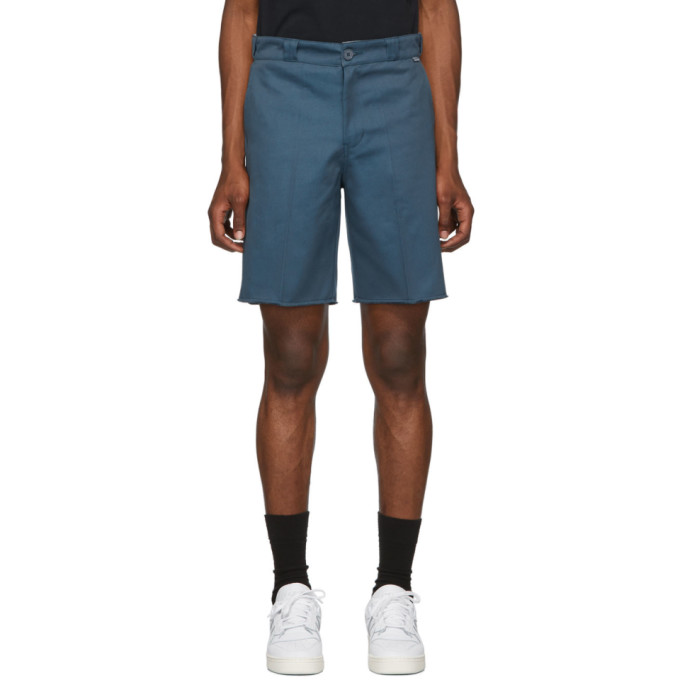 Dickies Construct Blue Cut-Off Shorts