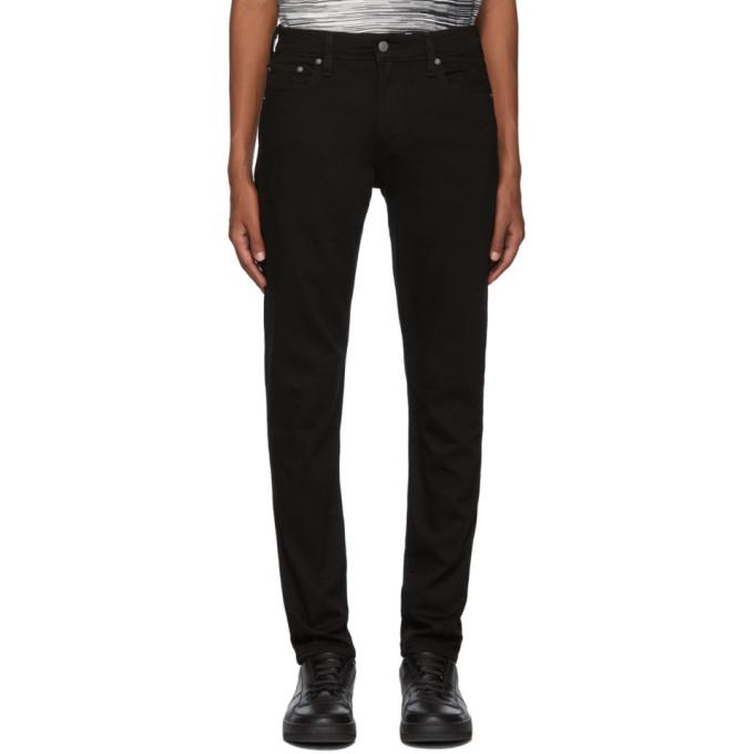 Levis Black 512 Slim Taper-Fit Jeans