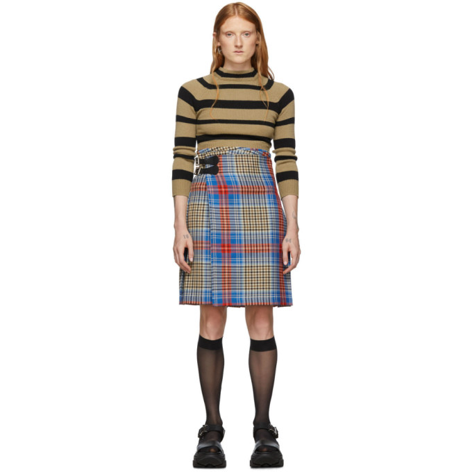 Charles Jeffrey Loverboy Kilt multicolore Tartan Shepherds