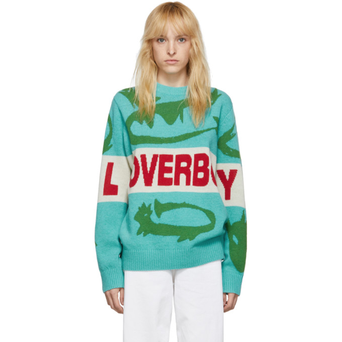 Charles Jeffrey Loverboy Pull vert Darling Little Sillies