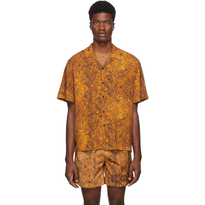 Everest Isles Chemise orange Oil Spill Beach