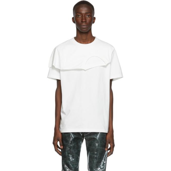 Feng Chen Wang T-shirt blanc 2-In-1