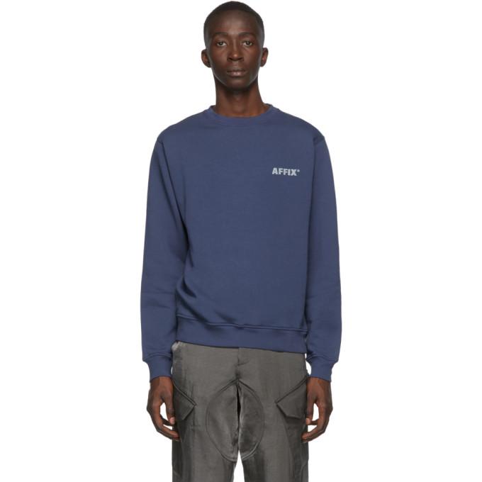 Affix Navy Basic Sweatshirt