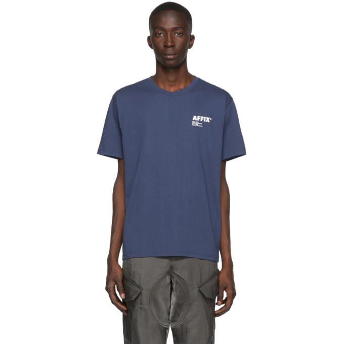 Affix T-shirt bleu marine Basic
