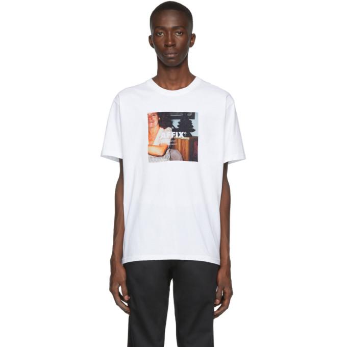 Affix T-shirt blanc Radio