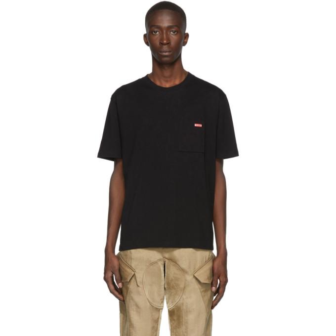 Affix T-shirt noir Logo Pocket