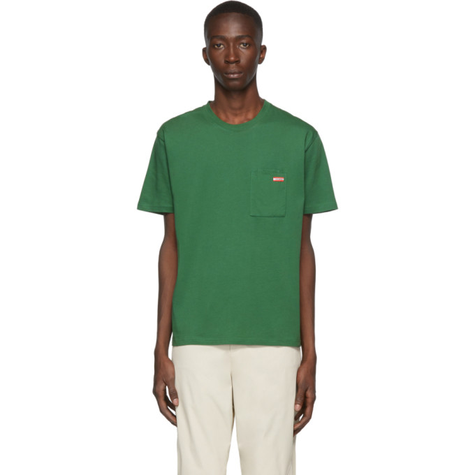 Affix T-shirt vert Logo Pocket