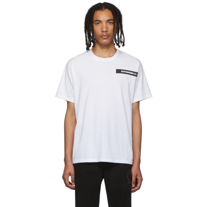 Affix T-shirt blanc AFFXWRKS